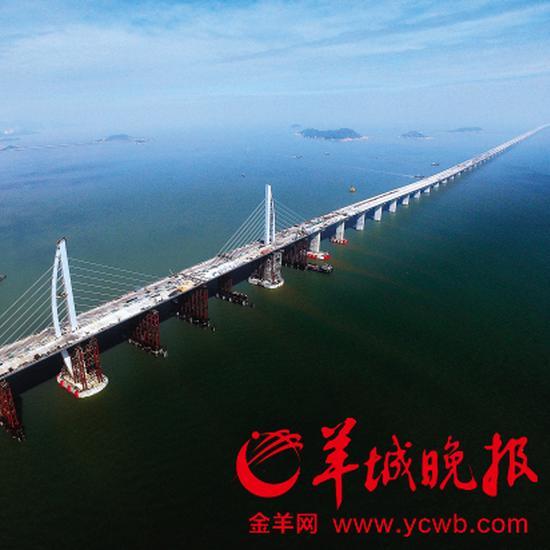 港珠澳大桥建设入决战期 揭秘世界最长跨海大桥