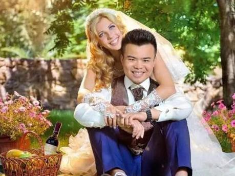 河南小伙娶23岁乌克兰美女