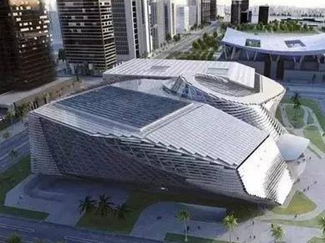 深圳新文化地标两馆建成:外观有大量旋转曲面