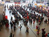 深圳东站节前春运7趟临客昨日全部开行