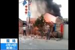广东一民房煤气爆炸 5人受伤