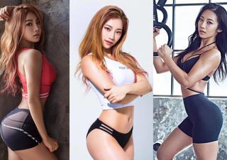 凹凸曼:韩国健身教练写真 性感身材叫板卡戴珊