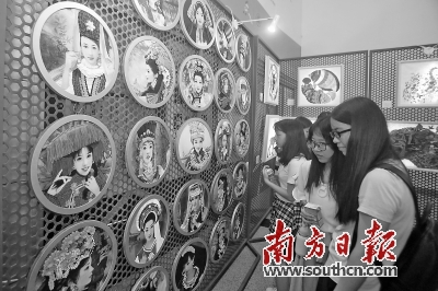 10日,文博会深圳职业技术学院创意中心分会场开幕。