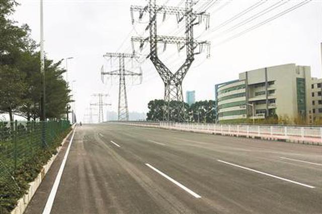 松福大道南北段全线贯通 成联系福永沙井松岗公明的纽带