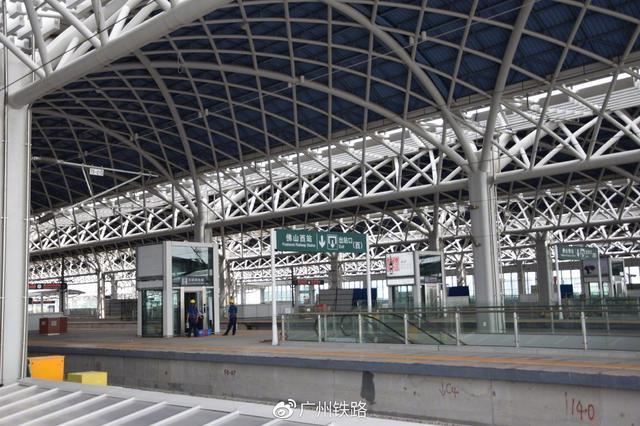 深圳高铁1小时直达佛山 佛山西站正式开办客运业务