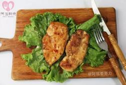 好吃不柴嫩出汁的鸡胸肉做法