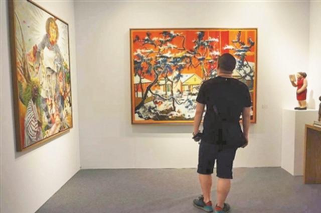 """探营""""2017艺术深圳""""展览:让艺术感染每一个角落"""