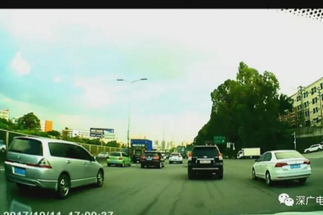 棍棒追打还耍阴招 深圳司机开车遭遇连环报复
