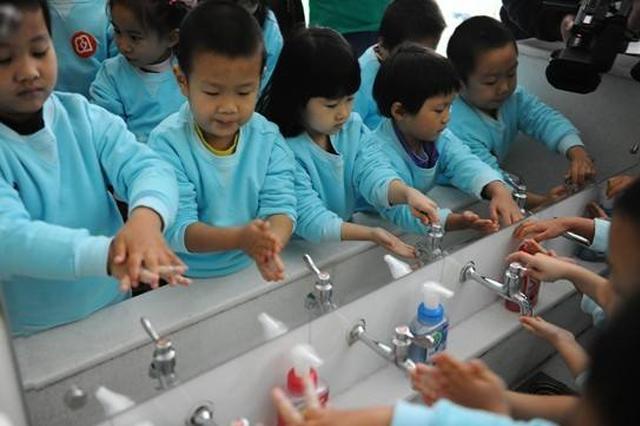 深圳将推进校园洗手健康促进项目 洗手将被纳入学校课程