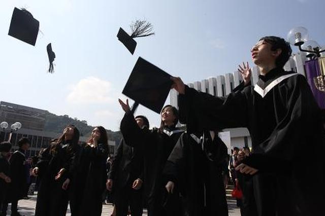 香港应届学士毕业生起薪1.4万港元 建筑专业最高