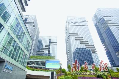 天安云谷吸引了华为等多家科技企业入驻。朱洪波 摄