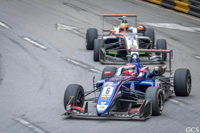 第64届澳门大赛车鸣金收兵 英国车手迪图F3封王