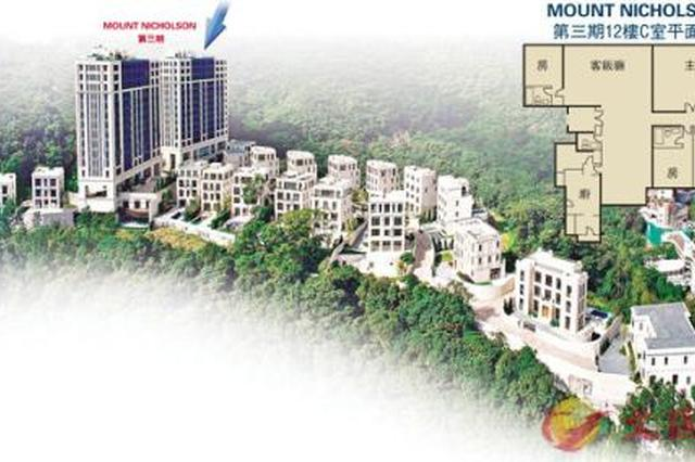 香港两豪宅以均价每平米约120万元人民币售出 创亚洲记录
