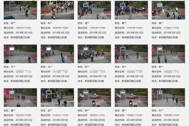 在深圳闯红灯个人信息被当场曝光网友吵翻 深圳交警回应