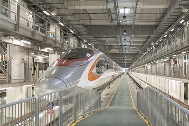 广深港高铁香港段试运行 初期每日计划开行127对列车