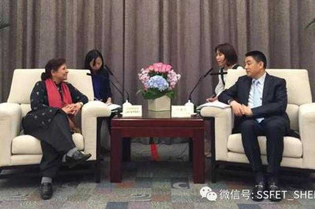 联合国副秘书长沙姆沙德·阿赫塔尔博士一行访问深圳