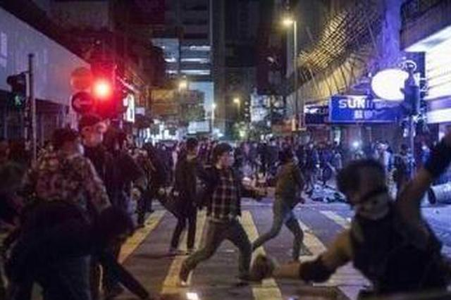 10名香港旺角暴乱参与者被定罪 9人被裁定暴动罪等罪行