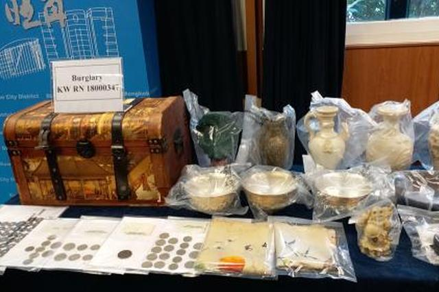 香港警方捣破爆窃古董团伙 搜出十万港元古董