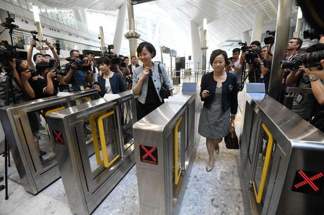 香港高铁9月23日通车 到深圳只需14分钟