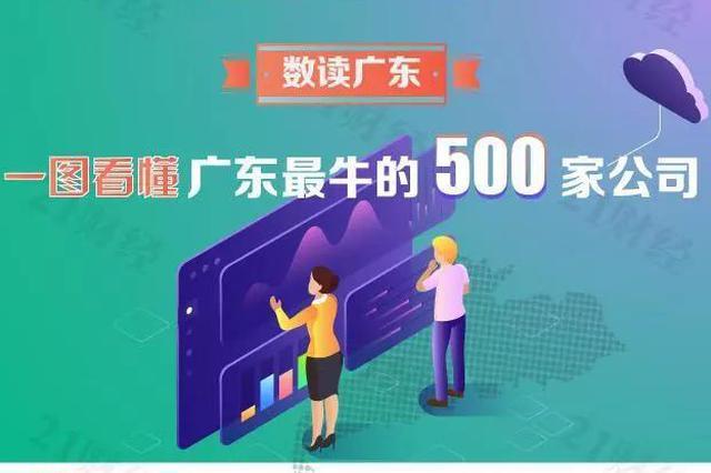 一图看懂广东最牛的500家企业 有你的公司吗