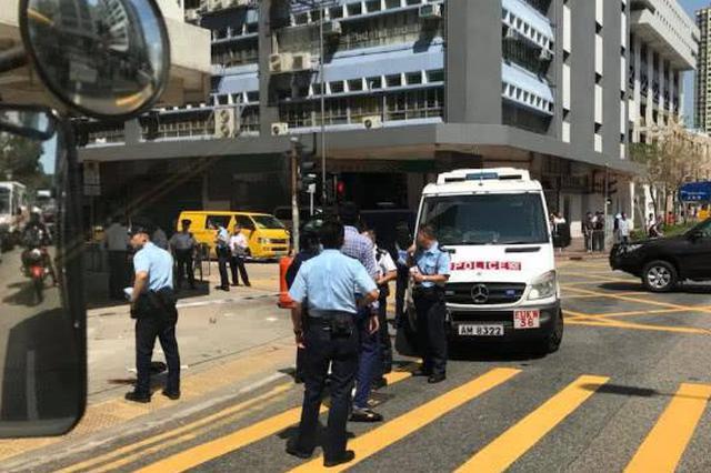 香港红磡发生持刀劫案 4匪徒抢506万现金后在逃