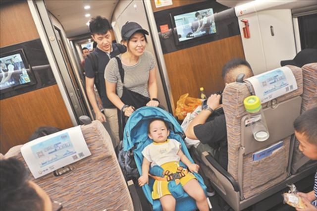 广深港高铁开通 内地旅客入住香港酒店总人次创中秋新高