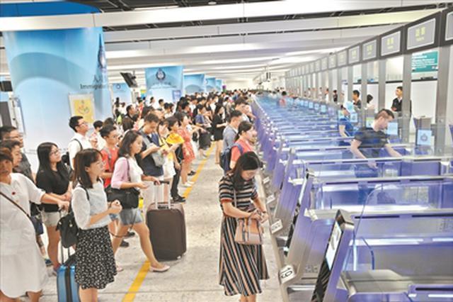 一地两检五分钟轻松通关 香港正式迈入高铁时代