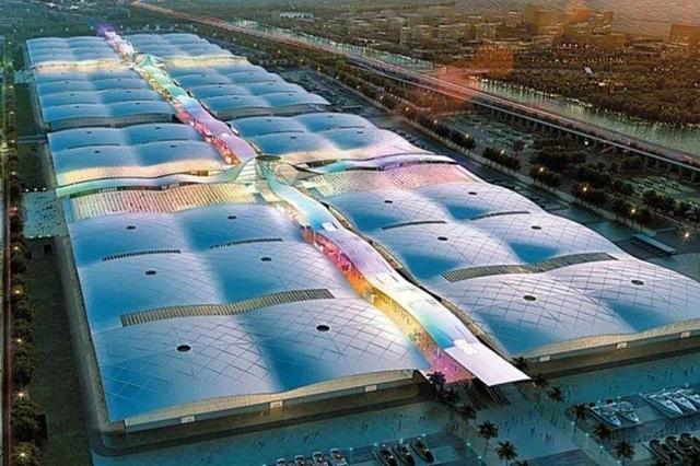 用钢27万吨全球建筑之最 深圳国际会展中心主体结构封顶