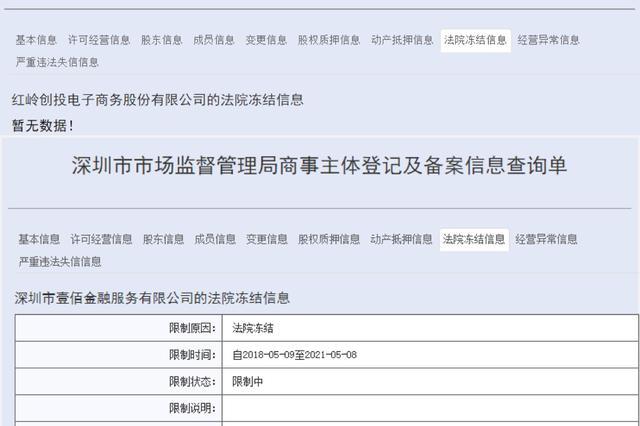 对纳入整治的网贷机构进行股权冻结 这政策深圳只执行了1天