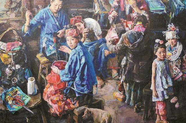 首届深圳大芬国际油画双年展30日开幕
