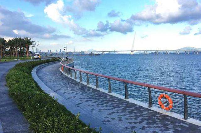 深圳湾滨海休闲带西段延长段月底开放 直通蛇口地标建筑
