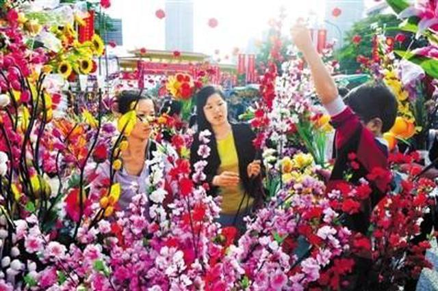 """深圳迎春花市将1月31日开始 采用""""花市+""""模式"""