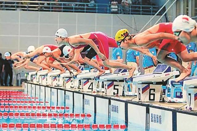 全国春季游泳锦标赛举行  深圳市体工大队游泳队获1金2铜
