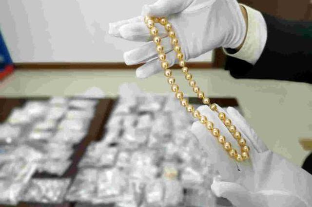 旅客未申报 携带500余件参展珍珠饰品出境被查