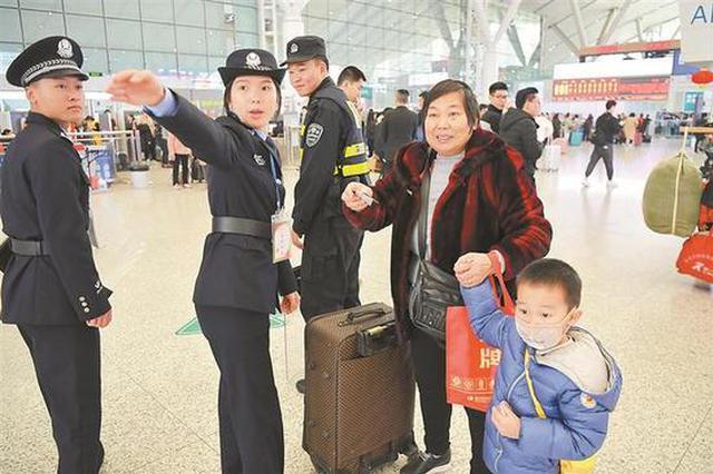 春运首日深圳发送旅客超47万人次