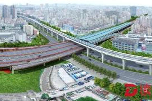 深华快速路-福龙立交工程开工 龙华往来市中心区将更方便