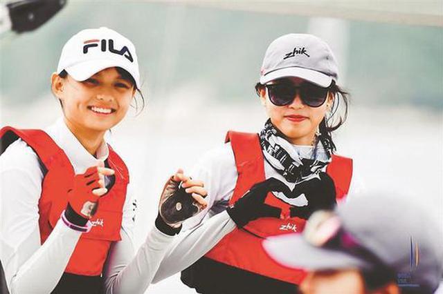 粤港澳青少年帆船联赛深圳启航 为孩子提供高规格赛事平台