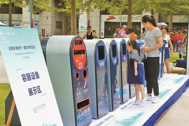 全市生活垃圾回收利用率达27% 805个小区实现集中分类投放