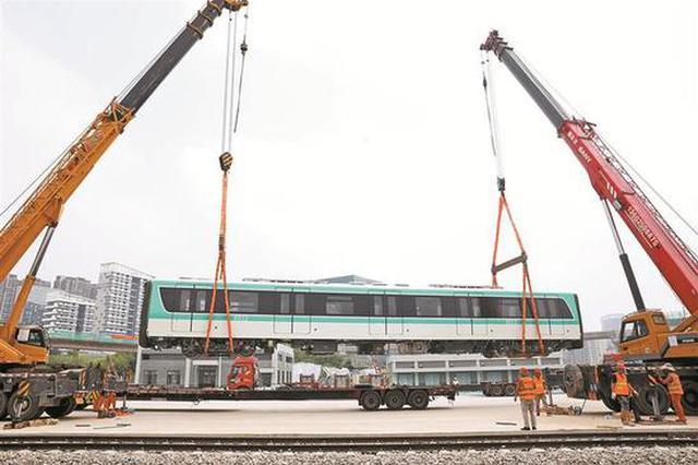 地铁6号线首列车落轨 明年将实现光明至中心城区快速直达