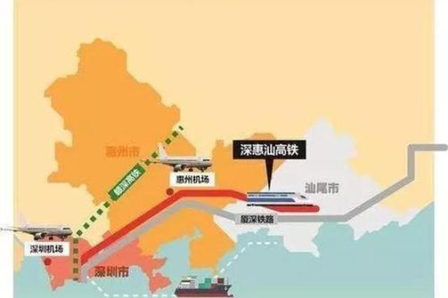 深汕高铁纳入规划 深圳未来30分钟可直达汕尾