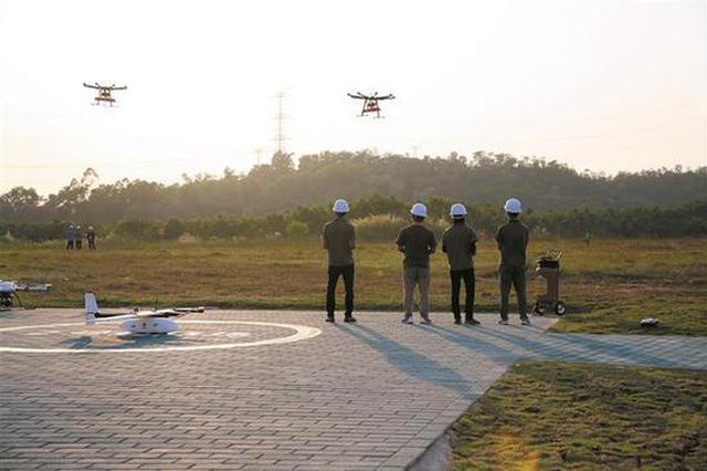 华南地区首个 龙岗区无人机测试场投入使用