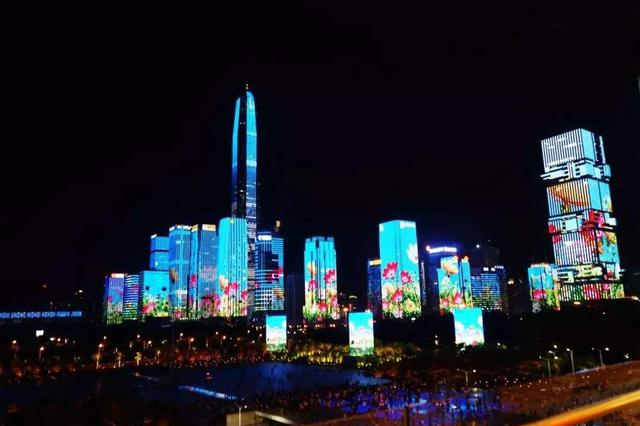 注意 深圳市中心区灯光表演时间及内容有所调整