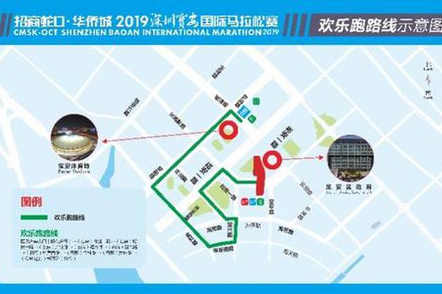 宝安国际马拉松赛明日开跑 路线看这里