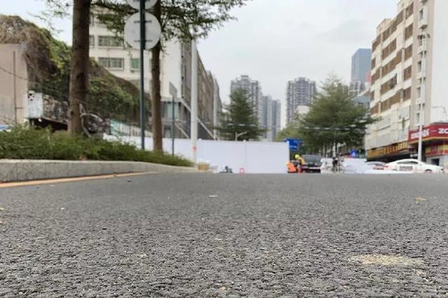 深圳龙岗通报一道路出现地面下沉险情:初判系施工引起