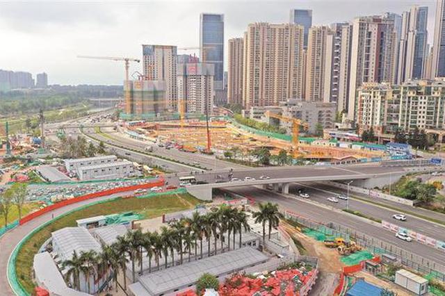 沙河西路快速化改造年内完工 全长约4.53公里