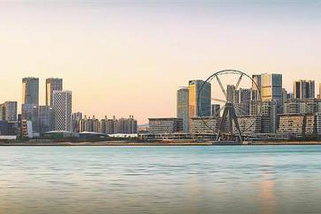 """宝安滨海文化公园开园 超级摩天轮""""湾区之光""""年底开放"""