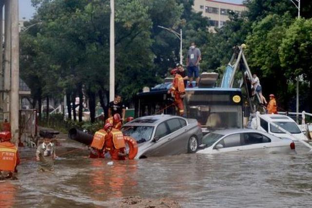 宝安暴雨内涝致公交车内20名乘客被困 全市无人员伤亡报告