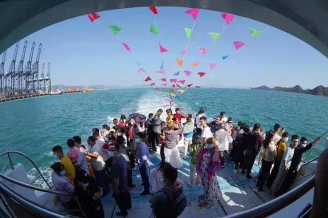 海上观光!深圳金色海岸游船春节期间增加班次