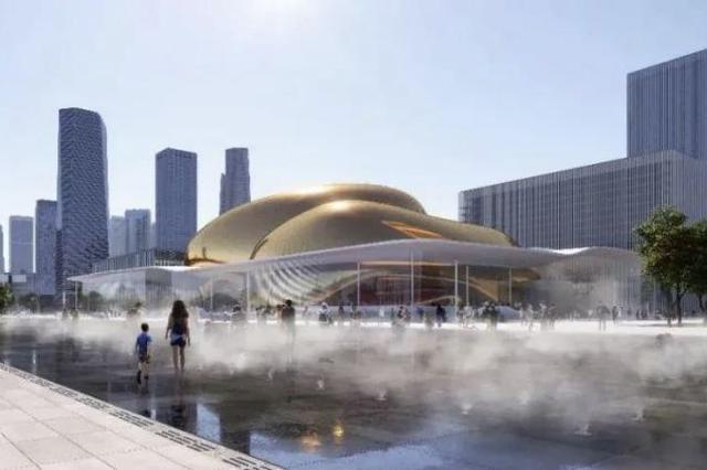 国际演艺中心、深圳金融文化中心建筑设计方案亮相