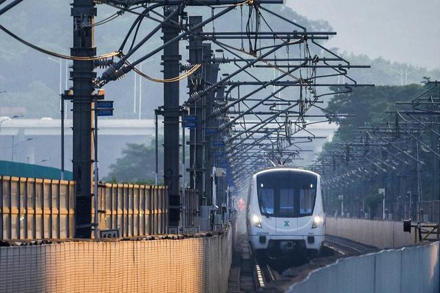 地铁快线14号线明年通车
